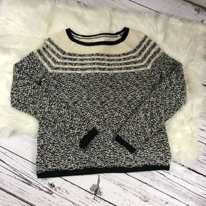 Lou & Grey wool blend crewneck sweater
